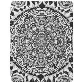 Mandala pattern iPad cover
