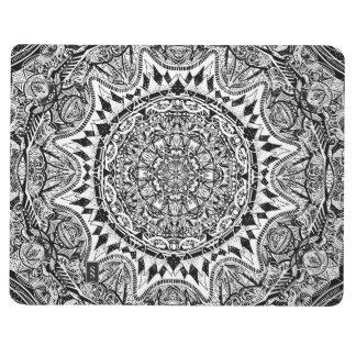 Mandala pattern journal