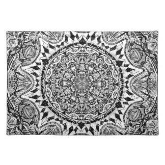 Mandala pattern placemat