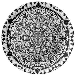 Mandala pattern plate