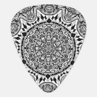 Mandala pattern plectrum