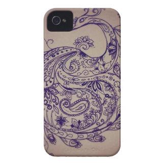 Mandala peacock iPhone 4 covers