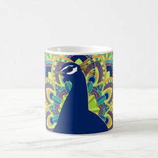 Mandala Peacock Mug