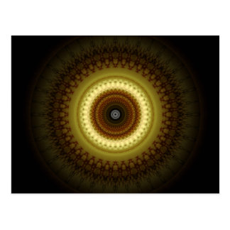 Mandala Place of silence created by Tutti Postcard