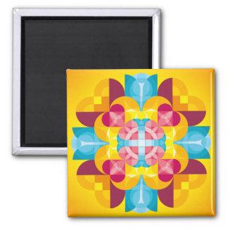 Mandala Prayer Magnets