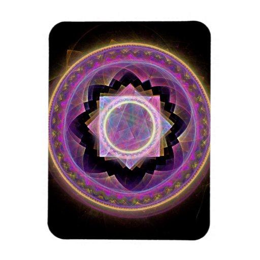 Mandala Rectangular Magnets