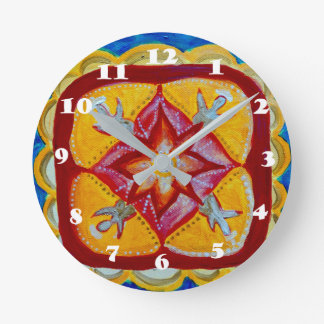 Mandala Round (Medium) Wall Clock