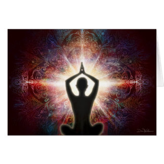 Mandala Salutation 2013 Card