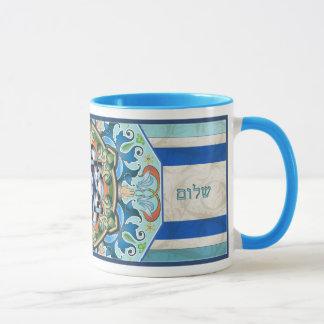 Mandala Shalom Mug