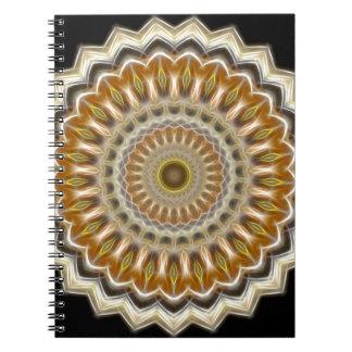 Mandala Spiral Notebook