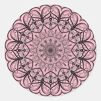 Mandala Sticker - Choose your background color