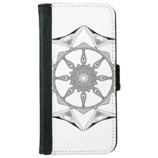 Mandala Style iPhone 6 Wallet Case