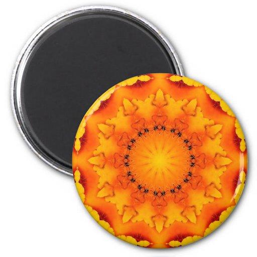 Mandala 'Sun' Fridge Magnet