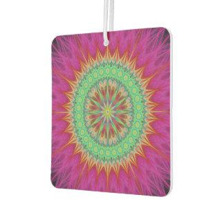Mandala symbol car air freshener