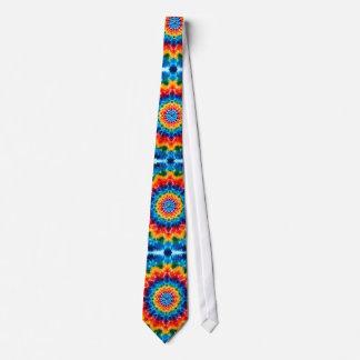 Mandala Tie-Dye Tie