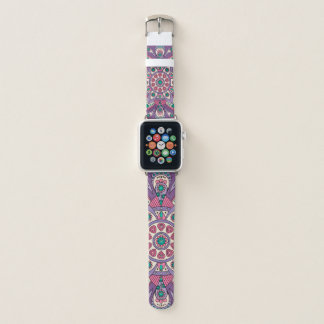 Mandala Tiga Original Purple Apple Watch Band