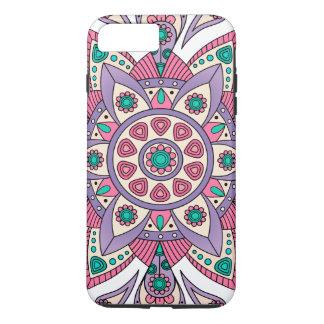 Mandala Tiga Original Purple White iPhone 8 Plus/7 Plus Case