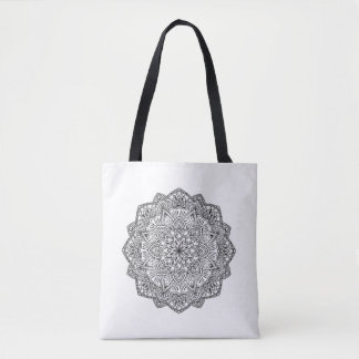 Mandala Tote Bag- Customize quote