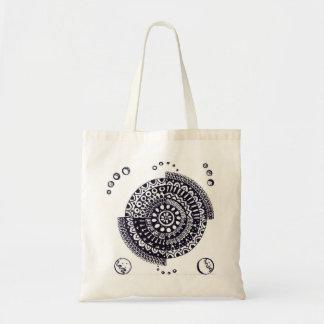 Mandala tote bag, Handmade Design
