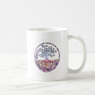 Mandala - Tree of Life in Paradise Coffee Mug