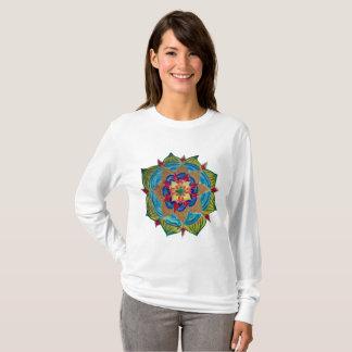 Mandala Women's Basic Long Sleeve T-Shirt, T-Shirt