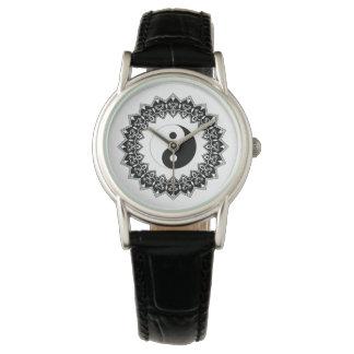 Mandala Yin Yang Watch