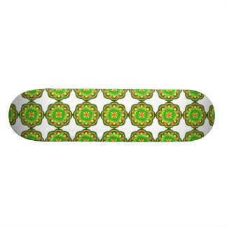 Mandalas 18.1 Cm Old School Skateboard Deck