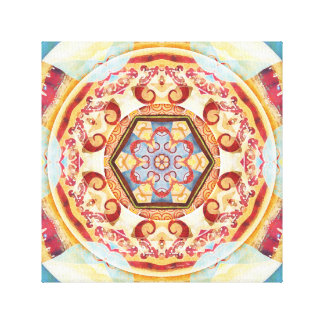 Mandalas for Times of Transition 4 Wrapped Canvas