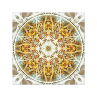 Mandalas for Times of Transition 5 Wrapped Canvas Canvas Print