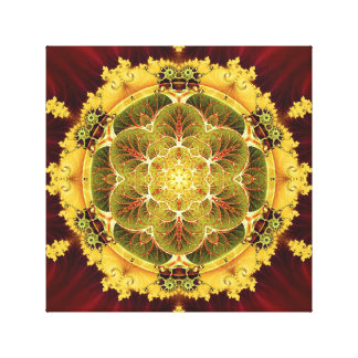Mandalas for Times of Transition 8 Wrapped Canvas Stretched Canvas Print