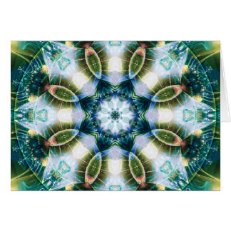 Mandalas from the Heart of Change 13, Card