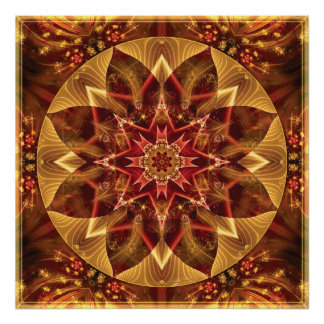 Mandalas from the Heart of Change 15 Poster