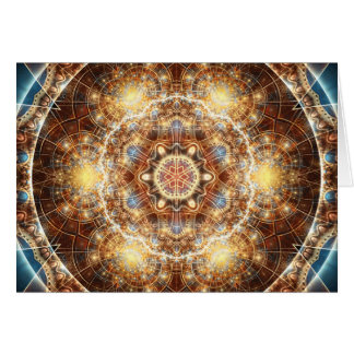 Mandalas from the Heart of Change 17, Card