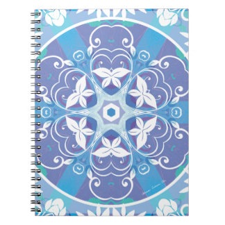 Mandalas from the Heart of Freedom 10 Gifts Spiral Note Book