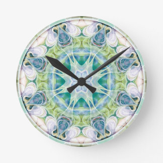 Mandalas from the Heart of Freedom 12 Gifts Round Clock