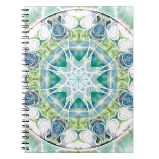 Mandalas from the Heart of Freedom 12 Gifts Spiral Notebook