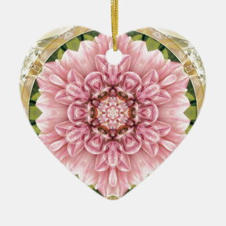 Mandalas from the Heart of Freedom 13 Gifts Ceramic Heart Decoration