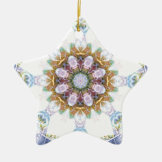 Mandalas from the Heart of Freedom 14 Gifts Ceramic Star Decoration