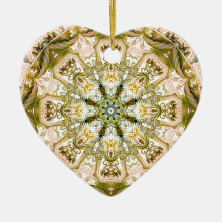 Mandalas from the Heart of Freedom 15 Gifts Ceramic Heart Decoration