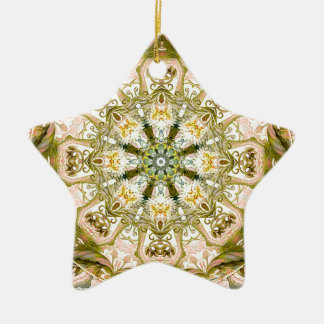 Mandalas from the Heart of Freedom 15 Gifts Ceramic Star Decoration