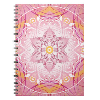 Mandalas from the Heart of Freedom 1 Gifts Spiral Notebook