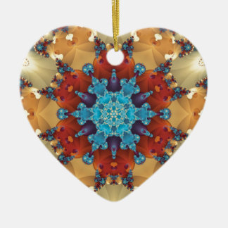 Mandalas from the Heart of Freedom 23 Gifts Ceramic Heart Decoration