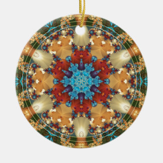 Mandalas from the Heart of Freedom 23 Gifts Round Ceramic Decoration