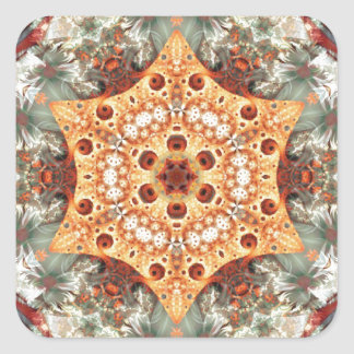 Mandalas from the Heart of Freedom 24 Gifts Square Sticker