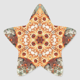 Mandalas from the Heart of Freedom 24 Gifts Star Sticker