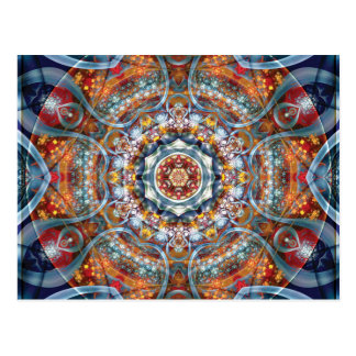 Mandalas from the Heart of Freedom 25 Postcard
