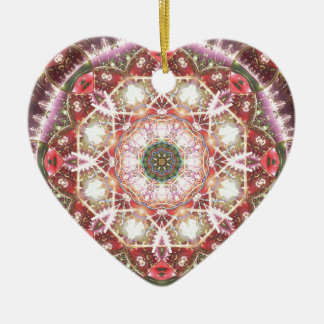 Mandalas from the Heart of Freedom 26 Gifts Ceramic Heart Decoration
