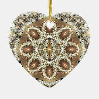 Mandalas from the Heart of Freedom 27 Gifts Ceramic Heart Decoration