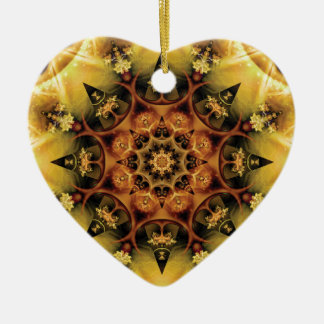 Mandalas from the Heart of Freedom 28 Gifts Ceramic Heart Decoration