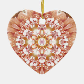 Mandalas from the Heart of Freedom 2 Gifts Ceramic Heart Decoration